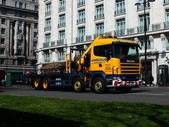 Ainscough - MV04EPE (Waterford_Man) Tags: london truck ainscough scania mv04epe ainscoughcranehire