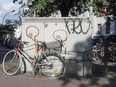 Graffiti in Dsseldorf 2016 (kami68k []) Tags: dsseldorf 2016 graffiti illegal bombing tag tags tagging handstyle handstyles neu