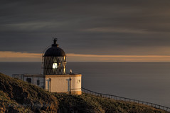 LIGHT ON LIGHT (lynneberry57) Tags: light sea lighthouse seascape water beauty clouds sunrise canon landscape dawn coast 70d leefilters stabbsheadlighthouse