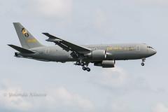 Eindhoven EHEH 2016 : Italian air force KC-767A 100Yrs Mks (Yolan104) Tags: ami airfield airfields eheheindhovenairport einvliegbasiseindhovenwelschap italianairforce itali italy mm622261401kc767 militair nederland vliegvelden aircraft aviation thenetherlands