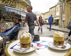 Cappuccino in Bagnols-sur-Ceze (weggum) Tags: bagnolsurcze leaderofthegangweggum cappuccino france 2016