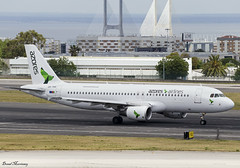 Azores Airlines A320-200 CS-TKQ (birrlad) Tags: lisbon lis international airport portugal aircraft aviation airplane airplanes airline airliner airways airlines taxiway taxi takeoff departing departure runway airbus a320 a320200 a320214 cstkq azores ponta delgada airazores
