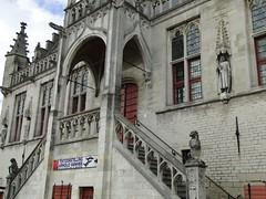 Brabant gothic style town hall (Joop van Meer) Tags: townhall damme 2016 flanderscoastpath