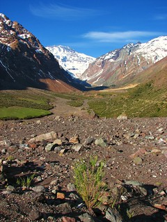 Cordillera de los andes,volcan San Jose,Chile