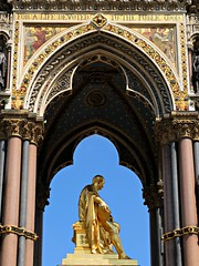 London: Albert Memorial, Kensington Gardens, London (Barbara Chandler) Tags: albertmemorial kensingtongardens georgegilbertscott victoriangothic highgothic gilt gilded gold monument