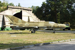 German AF MiG-21 at Finow (atg3v) Tags: mig mikoyan mikoyangurevich mig21 fishbed 2238 897 luftfahrtmuseumfinowfurt finow eberswalde eastgermany berlin fighter preserved aviation germanaf