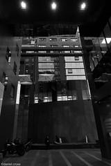 Conversando un pucho ( espacios urbanos) / Chatting a cigarette ( urban spaces) (daniel.cross) Tags: ensayos clarooscurosantiago paisaje santiagourbano