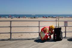 Project 365 | Day 18 (re/discoverfilm) Tags: shaman smoking cigarette beach boardwalk coneyisland break cigarettebreak red cult religious spirit brooklyn newyork nyc religion asian russianasian ricoh gr grii ricohgr