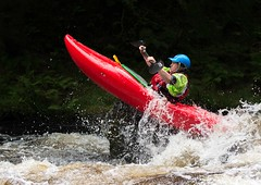 Leap of Faith (Chris Willis 10) Tags: bala kayak raft white water sport action