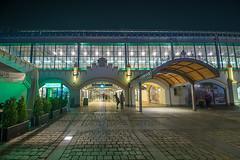 Wroclaw by Night (yazhubal) Tags: polska poland arch architecture buildings wroclaw train station