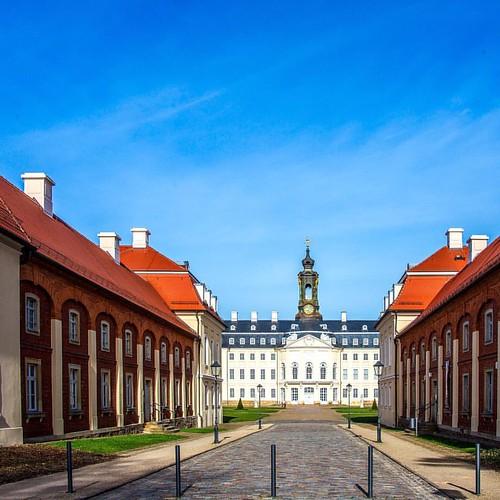 Schloss Hubertusburg on #sachsen #deutschland #saxony #germany