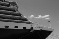QUEEN VICTORIA (Andrew Mansfield - Sheffield UK) Tags: volos queenvictoria cunard ship boat cruiseship greece