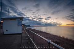 Teignmouth Blue (RTA Photography) Tags: teignmouth dawn devon sunrise blue bluehour beach seaside