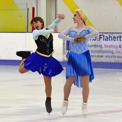DSC_9677 (R.A. Killmer) Tags: ice skate show graceful talented skater girls talent grace style costume blades spin leap glide teen