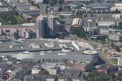Essen Limbecker Platz (foto-metkemeier.net) Tags: ltuclassics dinka dehavillanddove luftbilderruhrgebiet luftbilderduisburg luftbilderessen luftbildercrangerkirmes crangevonoben rundflug ruhrgebiet