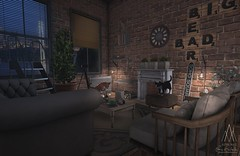 #296. It's the best thing that you've ever had (Gui Andretti) Tags: loft single home decoration birch nefariousinventions dad trompeloeil whatsnext junk soy thegachagarden fameshed monsieurchic place space living playing house interior mesh second life games art digital decor