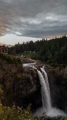 Snoqualmie Falls. ([Gaston].) Tags: snoqualmie snoqualmiefalls twinpeaks waterfall washington outdoors sunset hydroelectric