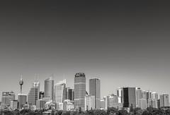 Below the sky (Martin Snicer Photography) Tags: sydney australia travel bw city skysrcaper skyline 6d 50mm