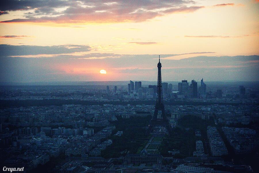 2016.10.09 ▐ 看我的歐行腿▐ 艾菲爾鐵塔,五個視角看法國巴黎市的這仙燈塔 06