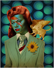 lady stardust blue (blue beany) Tags: bluebeany bowie david tretchikoff