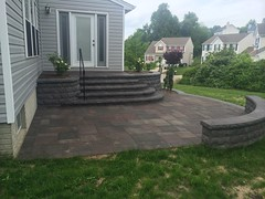 after (4) (The Sharper Cut Landscapes) Tags: belgardhardscapes backyard landscapedesign landscaping landscapecompany landscapelighting patio pavers plantings seatwall steps retainingwall thesharpercutlandscapes thesharpercut