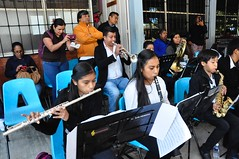 Ceremonia por el 43 aniversario de la Escuela Secundaria Técnica No. 64