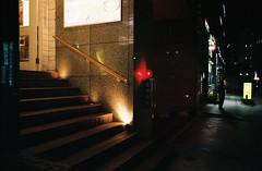 ... (june1777) Tags: snap street seoul night light konica autoreflex t hexanon ar 28mm f35 fuji superia xtra 400 pushed 2