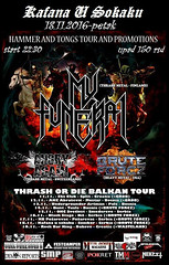 "BRUT FORCZ / ANGRY AGAIN / MY FUNERAL / Thrash METAL NIGHT ""THRASH OR DIE"" u Sokaku 18 November 2016 Event (podrumarenje) Tags: event brut forcz angry again my funeral thrash metal night thrashordie u sokaku 18 november 2016"