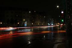 285/366 - Directions... (Sinuh Bravo Photography) Tags: canon eos7d potd2016 ayearinphotos lightstream colors longexposure streetlights nightshot night