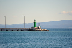 Split im Winter (clphotography2013) Tags: wasser meer split kroatien ammeer blau leuchtturm lighthouse grn green blue