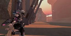 Operation Molten Core (Kimiko Mazoku) Tags: scifi cyberpunk robot mech cyborg armor mars martian military insilico