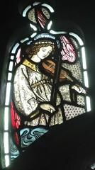 [45616] St Editha, Tamworth : Musician (Budby) Tags: tamworth staffordshire church window stainedglass preraphaelite