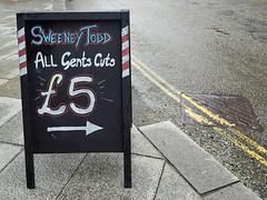 Sweeney Todd (Helen Orozco) Tags: sign smile sweeneytodd redruth cornwall