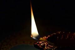 Let there be light... (Veena Nair Photography) Tags: macromondays edge light claydiya diwali lettherebelight deepavali stilllife stilllifephotography diya