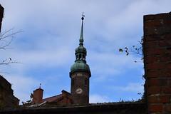 Through history of walls (navarrodave80) Tags: old historic walls church stick downtown city slupsk poland street nikon d3300