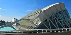 Urban whalebones (vittorio vida) Tags: spain valencia cityofsciences art architecture building modern urban whalebones whale city