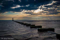 Crosby Beach Pipe (NickCarterPhotography) Tags: liverpool crosby beach seaside uk sand water pipeline