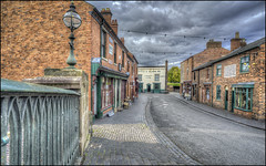 BCLM Town (Darwinsgift) Tags: bclm black country living museum town dudley birmingham hdr photomatix voigtlander 20mm color skopar f35 sl ii nikon d810