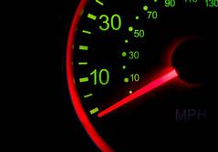 Macro  Mondays: Backlit [0-30] (NVOXVII) Tags: macromondays hmm macro backlit speedometer dial numbers glowing contrast abstract nikon closeup measurement dashboard slowshutter