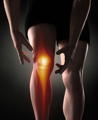 Improve Knee Joint Health with Rebounding (FLIPnOUT) Tags: man sport illustration skeleton 3d pain hurt glow graphic accident body muscle leg injury science stretch medical health human massage xray anatomy link medicine slovakia bone care arthritis knee biology brace acl physical illness ache ligament osteoporosis pcl arthroscopy