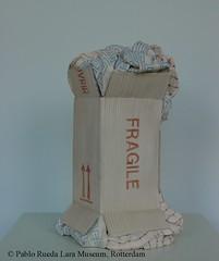 "karton-cardboard-carton (0) (Pablo Rueda Lara 1945-1993) Tags: realistisch realistic realistichkeramiek realisticceramic""keramieken karton"" ""ceramic cardboard"" museumvoorkeramiekpabloruedalara pabloruedalara museumpabloruedalara pablo rueda lara keramiek ceramic ceramico karton cardboard carton realisticceramicrealismoceramico ""keramieken ´carton de ceramica´"