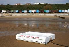 Use at your own risk (Phil Gyford) Tags: uk beach raft essex walton frinton waltononnaze waltononthenaze frintononsea