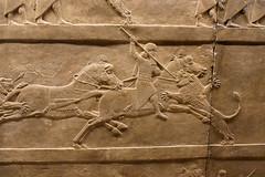 Panel of Ashurnasirpal II, Lion Hunt ( dieffe) Tags: archaeology britishmuseum londra mesopotamia regnounito basrelief inghilterra arqueologa archologie archeologia bassorilievo bajorrelieve bajorelieve msopotamie
