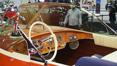 1973 Riva 21' Speed Boat 6 (Jack Snell - Thanks for over 24 Million Views) Tags: sf auto show ca wallpaper cars wall speed vintage paper boat san francisco riva 21 center international collectible moscone 1973 57th 19073 excotic jacksnell707 jacksnell