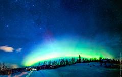 Aurora Borealis (Thorphography) Tags: winter sky cold norway night canon stars astrophotography nightsky auroraborealis 14mm samyang