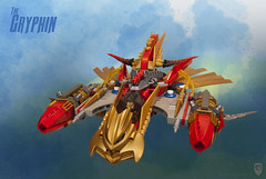 The Gryphin (porschecm2) Tags: fighter ship lego space airship skyfi gryphin