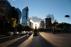 Monumento a Cuauhtmoc - Ciudad de Mxico (allansribeiro) Tags: city mxico df monumento ciudad cuauhtmoc