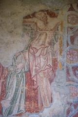 Hum (mephistofales) Tags: church graffiti europe croatia medieval balkans orthodox byzantine adriatic hum istria glagolitic istrianpeninsula croati