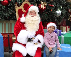 It's a Disneyland Holiday Santa and Nicholas