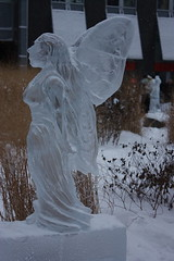 Icefest 20 (codie_horse) Tags: toronto statues talent wintertime yorkville icecarving frozenintime 2015 ancientegyptian blooryorkville 10thyear madeofice 10thannualicefest icefest15 bloorandyorkville